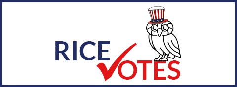 Rice Votes Logo